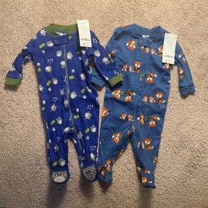 NWT Gymboree Footie Pajamas Bundle